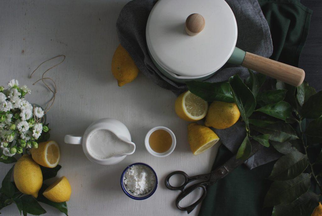 Lemon curd (vegan)
