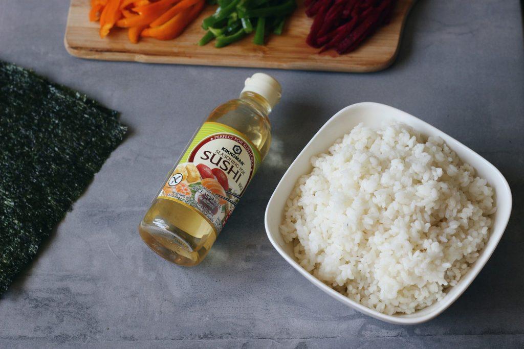 Sushi vegan - arroz