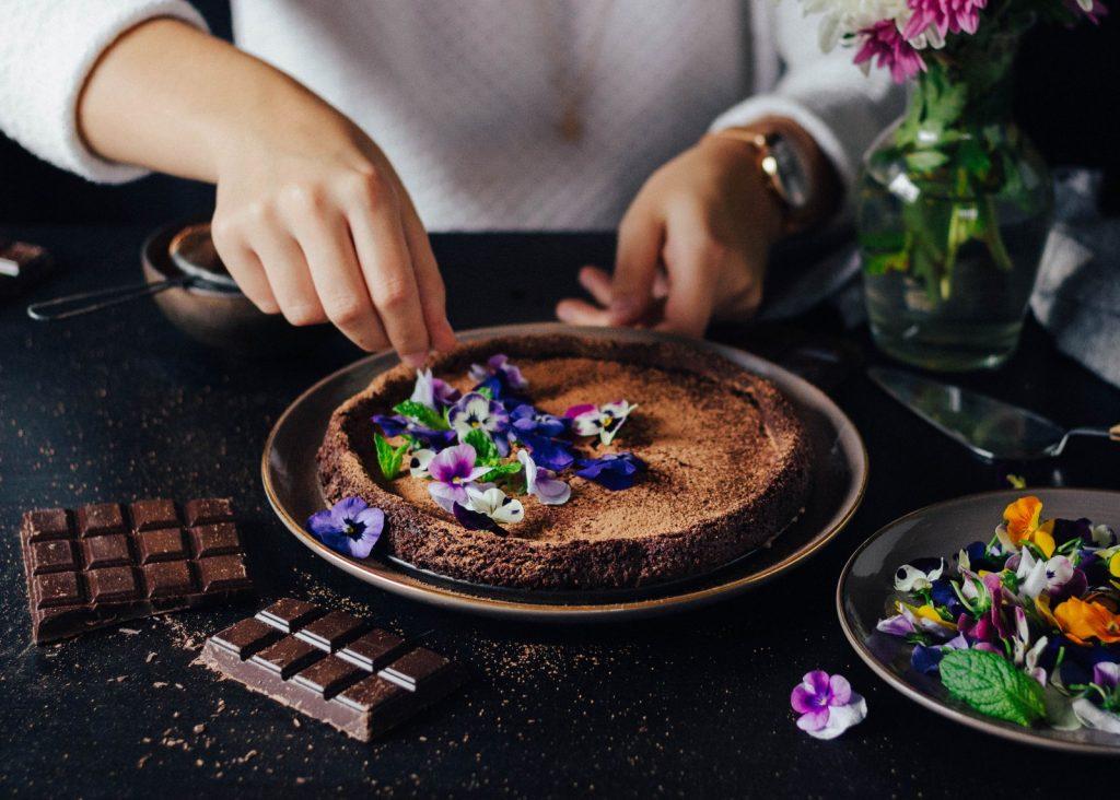 Bolo Mousse de Chocolate (versão vegan)