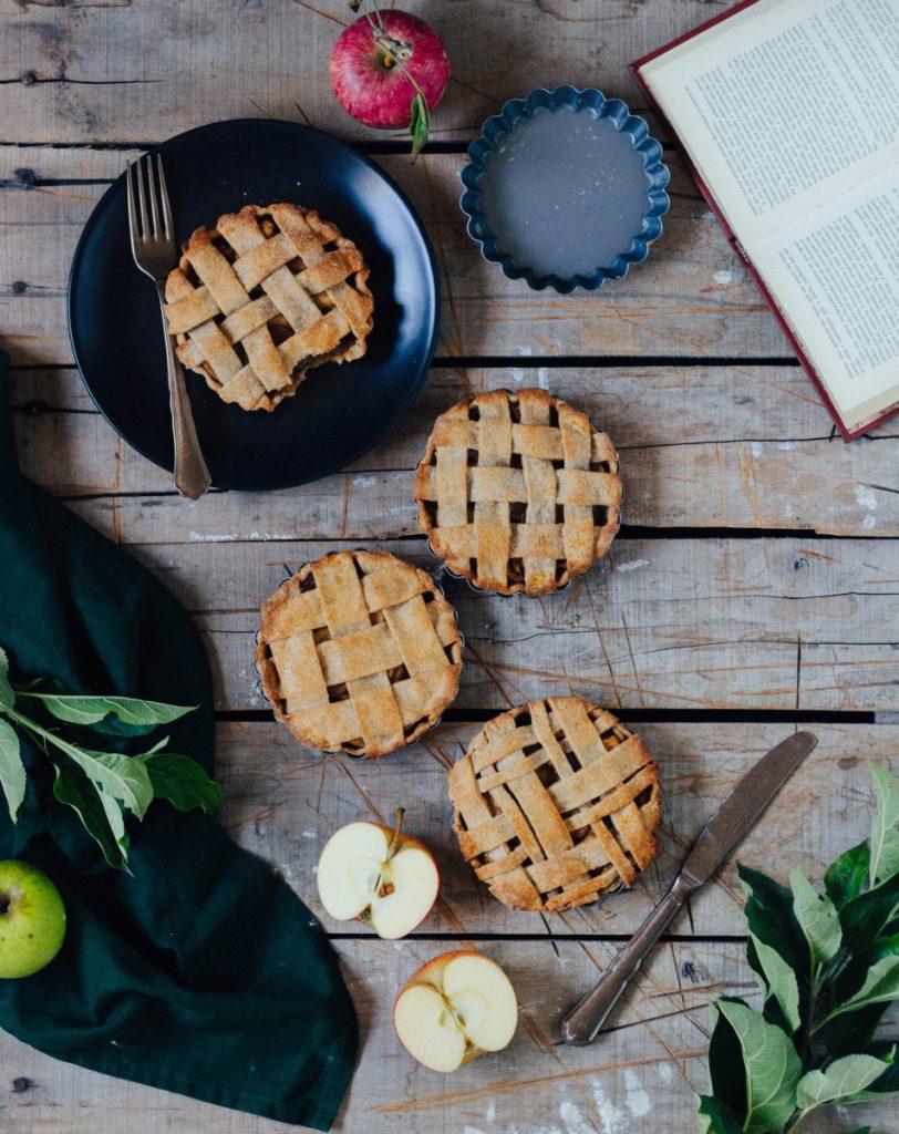 Tartes de maçã (vegan)
