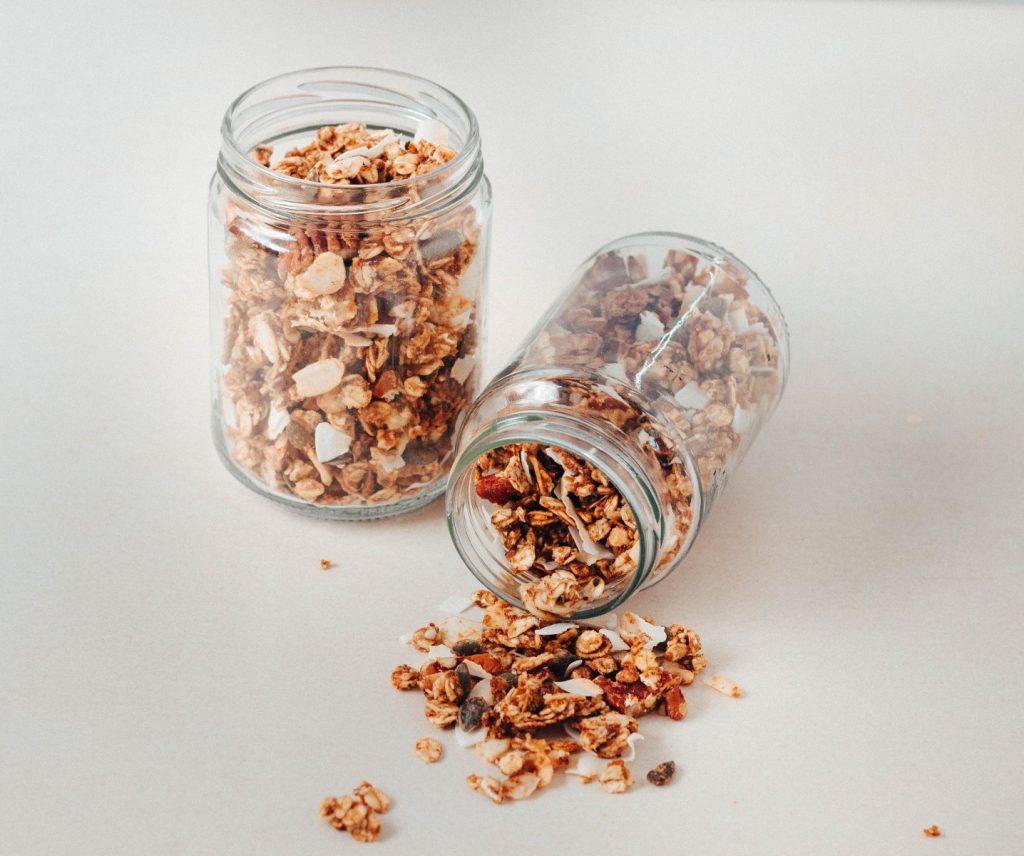 Granola de frutos secos (adoçada com tâmaras)