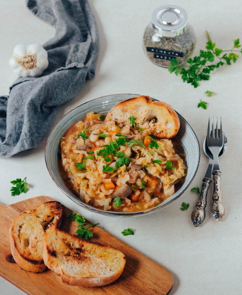 Feijoada de legumes e cogumelos #diaadiaveg