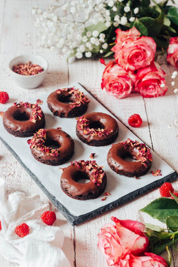 Donuts de chocolate (no forno)